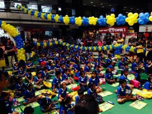 Children Showcasing their Talent @ Pacific mall, Ghaziabad