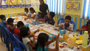 Craft Activity @ KK Nagar 26.8.2014