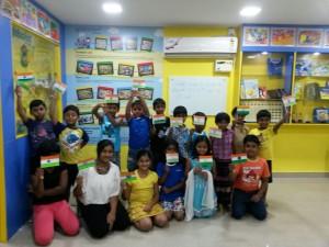 Independence day celebration @ Madhanandapuram 16.8.2014
