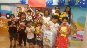 Hi Buddy - prize distribution at Kalkaji