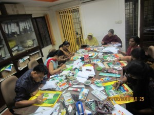 Acrylic-and-Cartoon-Comics-Training-conducted-by-Mr.-Thong-–International-Trainer-in-February-2013